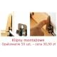 Listwa przypodłogowa drewniana SEG100 (95/13 mm) DĄB SUROWY Pedross - 2