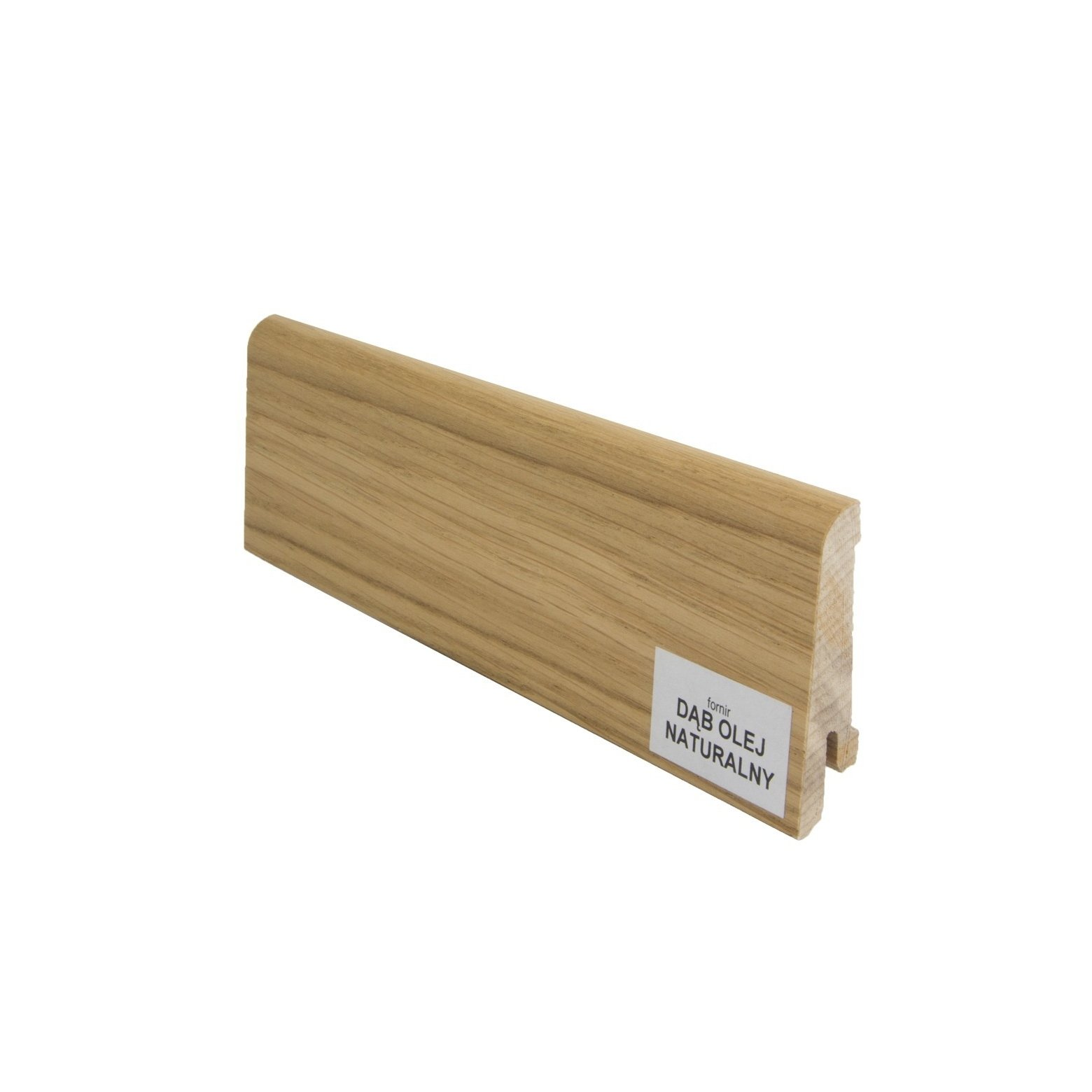 Listwa przypodłogowa drewniana (60/14 mm) DĄB OLEJ NATURALNY