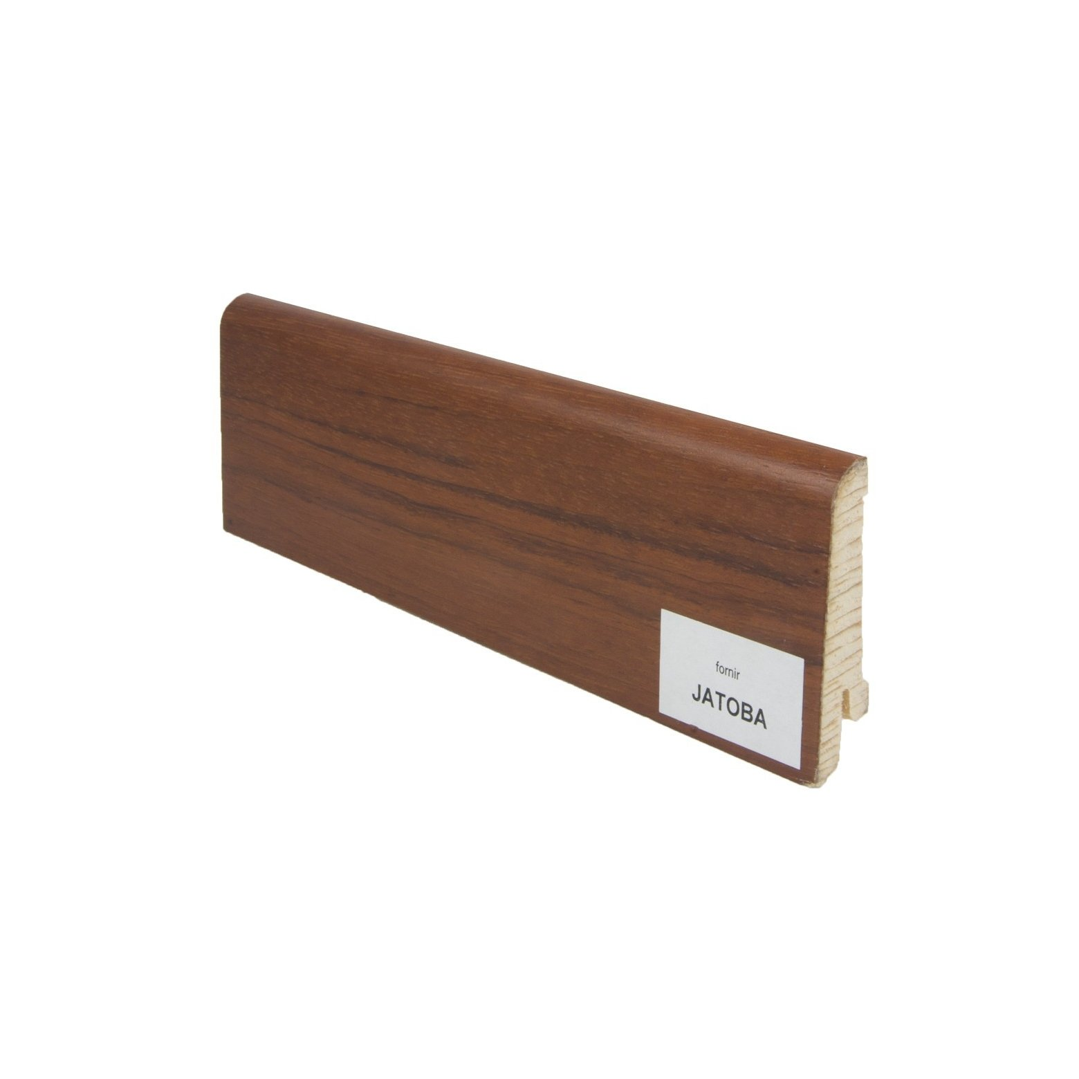 Listwa przypodłogowa drewniana (60/14 mm) JATOBA FORNIR