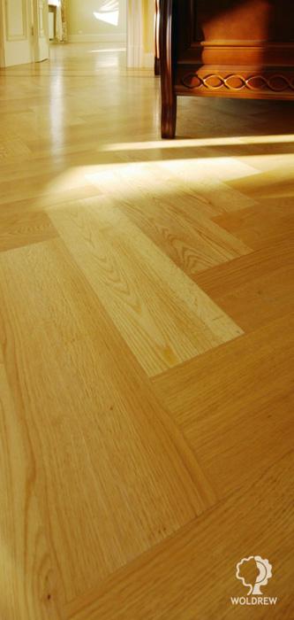 drewniana podloga debowa parkiet debowy jodelka