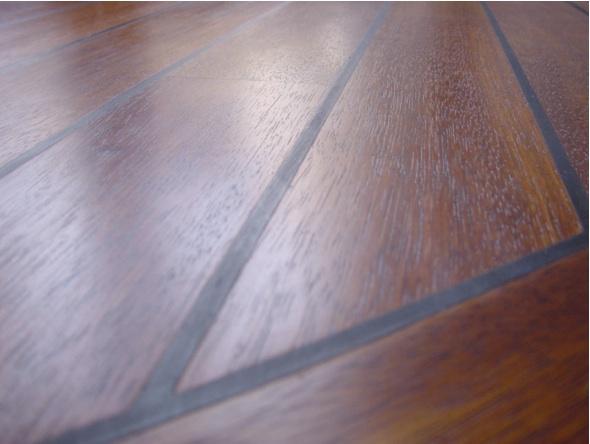 deski z guma - drewniana podloga w lazience