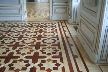 Pałac w Wilanowie - renowacja podłóg drewnianych